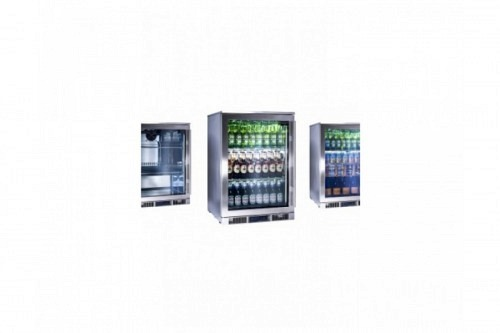 Single Door Outdoor Cooler – Glass Door, Left Hand Hinged